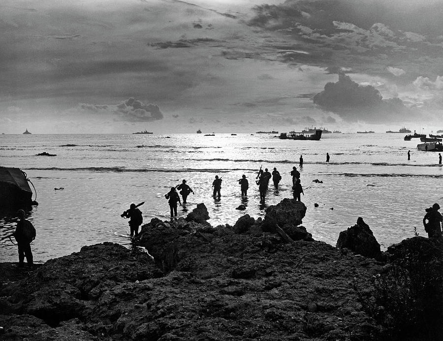 Tinian Island Invasion by Underwood Archives