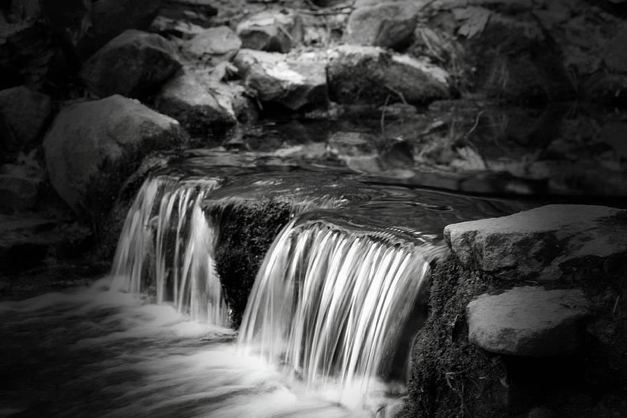 Tiny Waterfalls by Bonnie Bruno