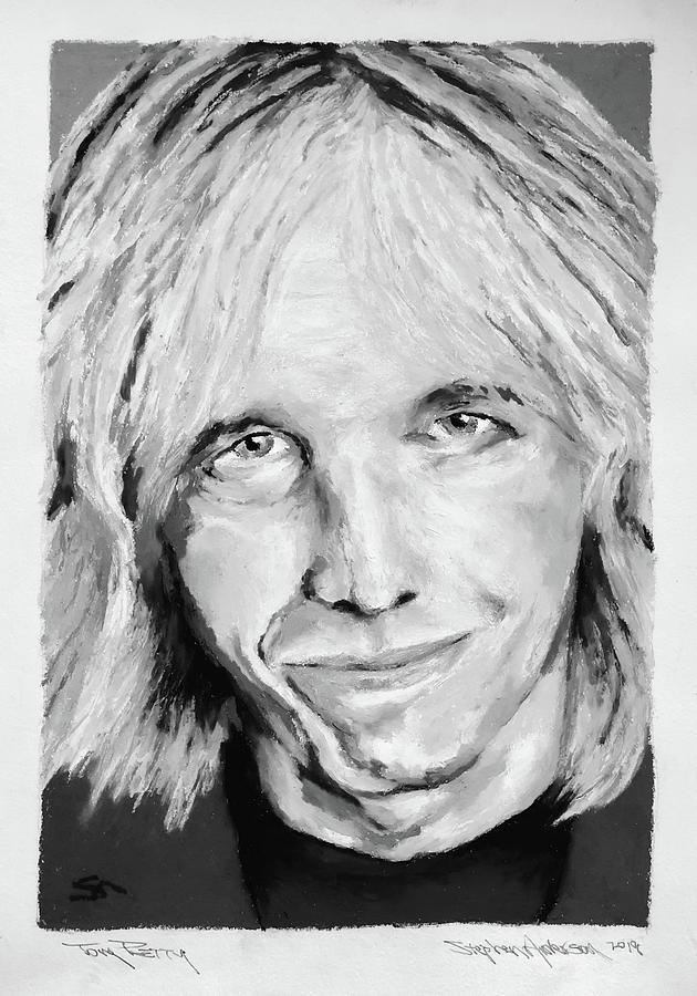 Tom Petty II Painting