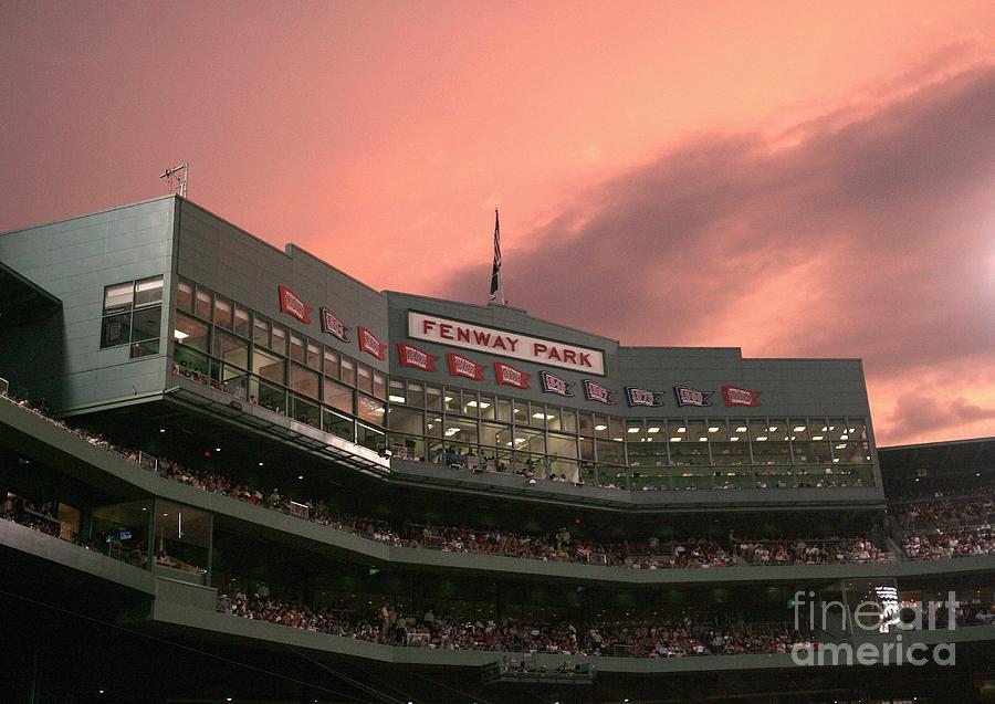 Toronto Blue Jays V Boston Red Sox Photograph by Elsa