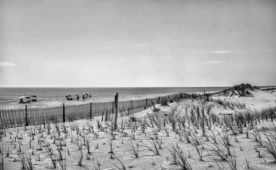 Tower Photograph - Towers Beach - Delaware Seashore State Park by Brendan Reals