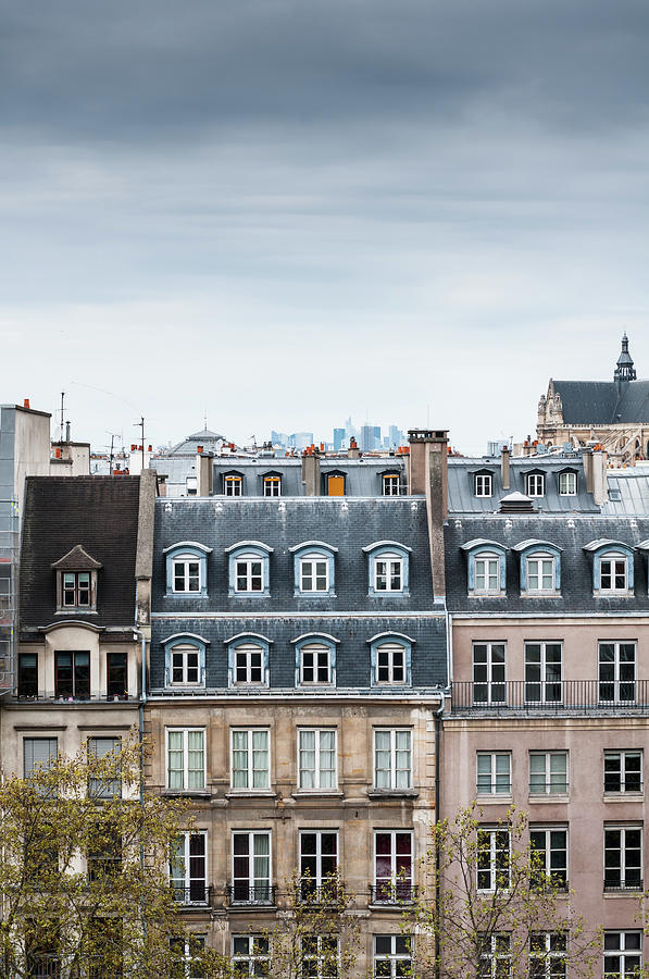 Traditional Buildings In Paris Photograph by Mmac72