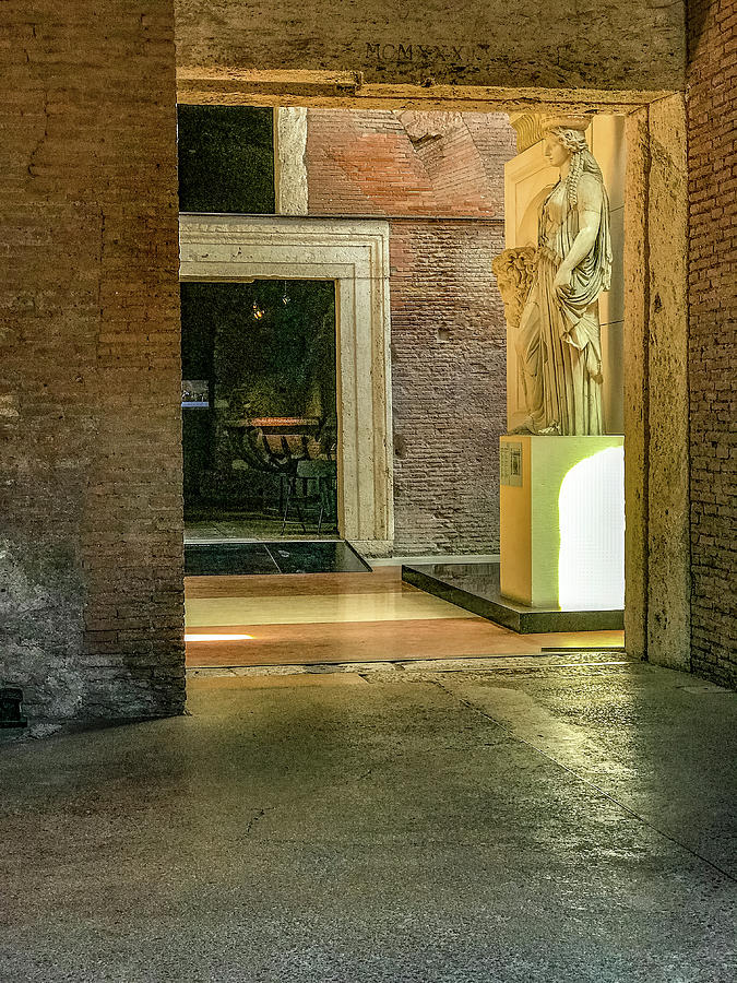 Empire Photograph - Trajans Forum by Joseph Yarbrough