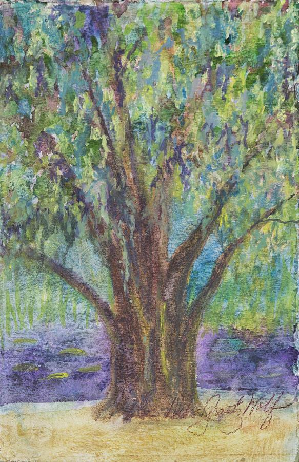 Oak Too Painting by Debra Grantz Wolf