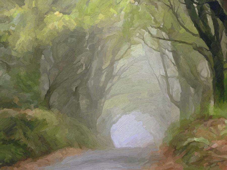 Cornwall Digital Art - Trefula Mists by Scott Waters