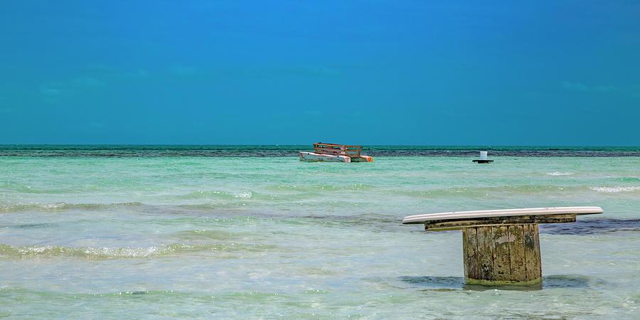 Beach Photograph - Tropical Days Bucket List by Betsy Knapp