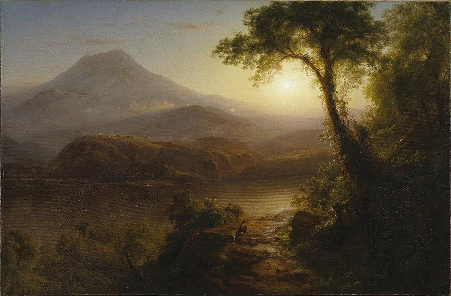 Tropical Scenery Painting - Tropical Scenery 7 by Frederic Edwin Church