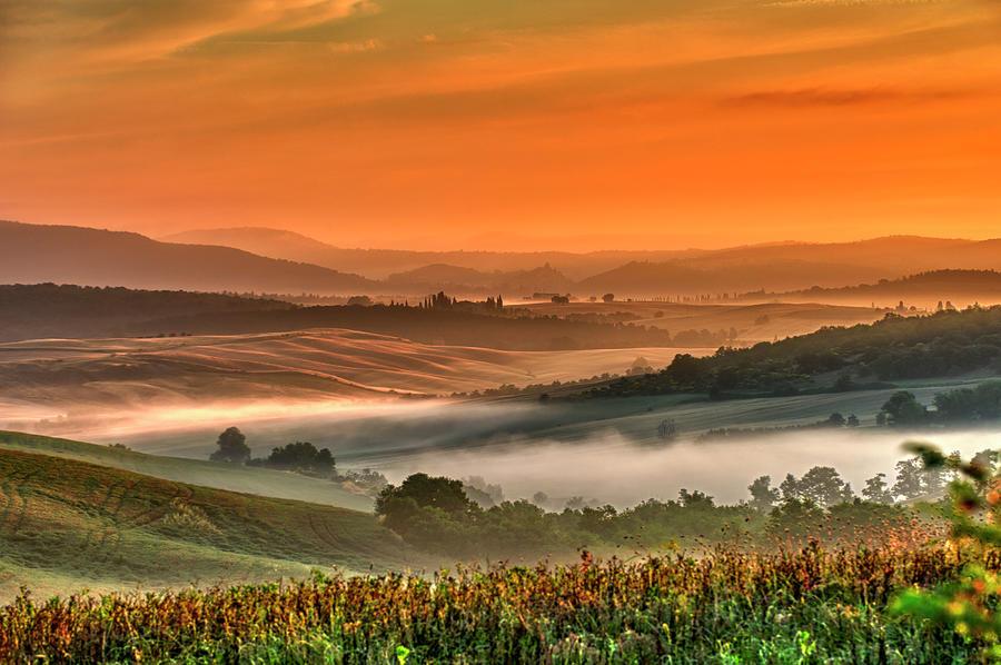 Tuscany Landscape Photograph by Creativaimage