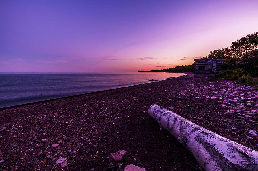 Lake Superior Photograph - Twilight On Lake Superior by Lonnie Paulson