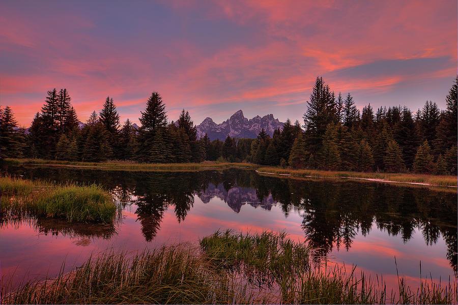 Wyoming Photograph - Twilight Serenade by Bill Sherrell