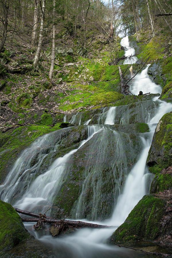 Twin Cascades, Massachusetts by Greg Parsons