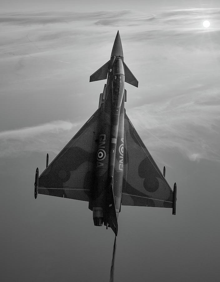 Eurofighter Mixed Media - Typhoon Gina by Smart Aviation