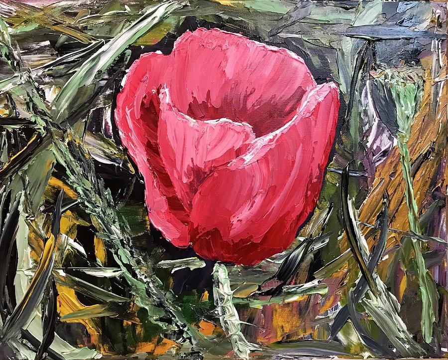 Umbrian Poppies 2 by Ovidiu Ervin Gruia