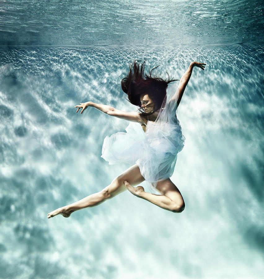 Ballet Dancer Photograph - Underwater Ballet by Henrik Sorensen