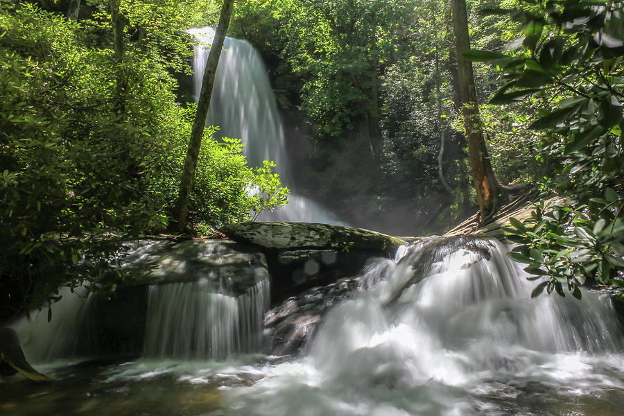 Upper Catawba Falls by Chris Berrier