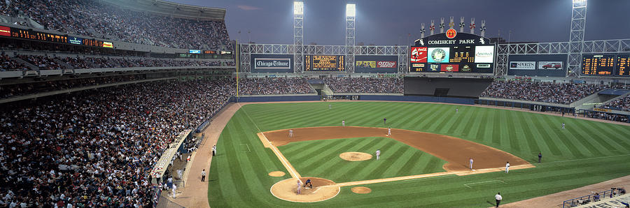 Horizontal Photograph - Usa, Illinois, Chicago, White Sox by Panoramic Images