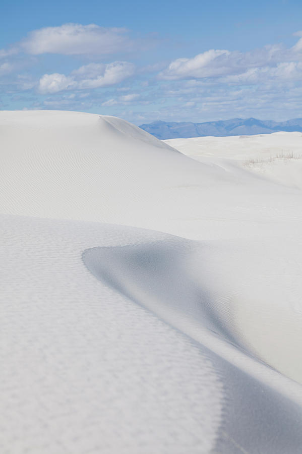 Usa, New Mexico, White Sands National Photograph by Vstock