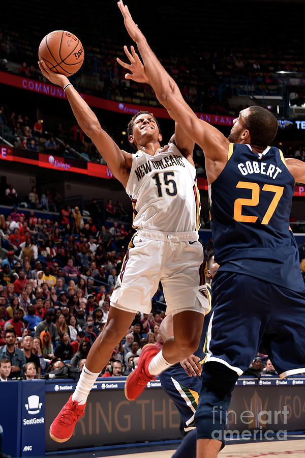 Utah Jazz V New Orleans Pelicans Photograph by Bill Baptist