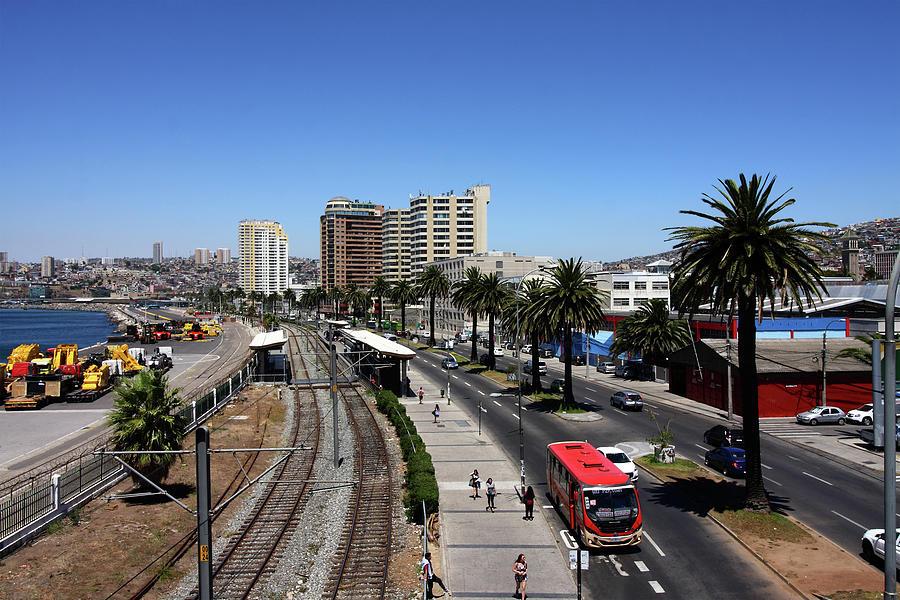 Valparaiso, Chile, South America by Aidan Moran