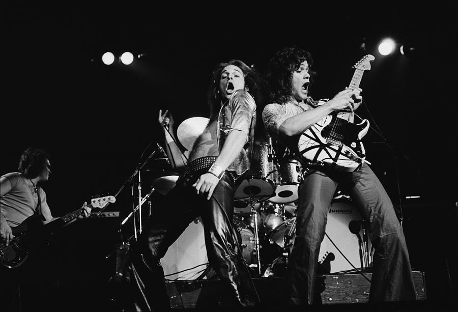 Van Halen In Lewisham Photograph by Fin Costello