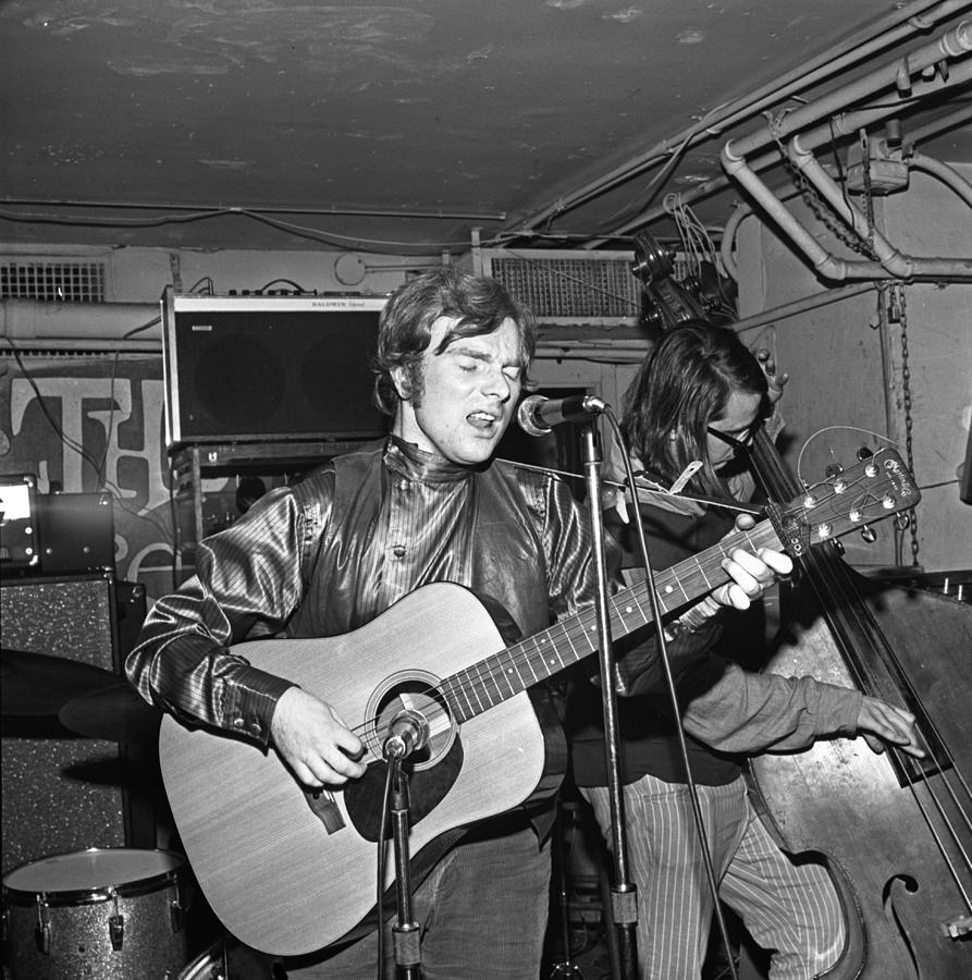 Van Morrison Performing In Ny Photograph by Donaldson Collection