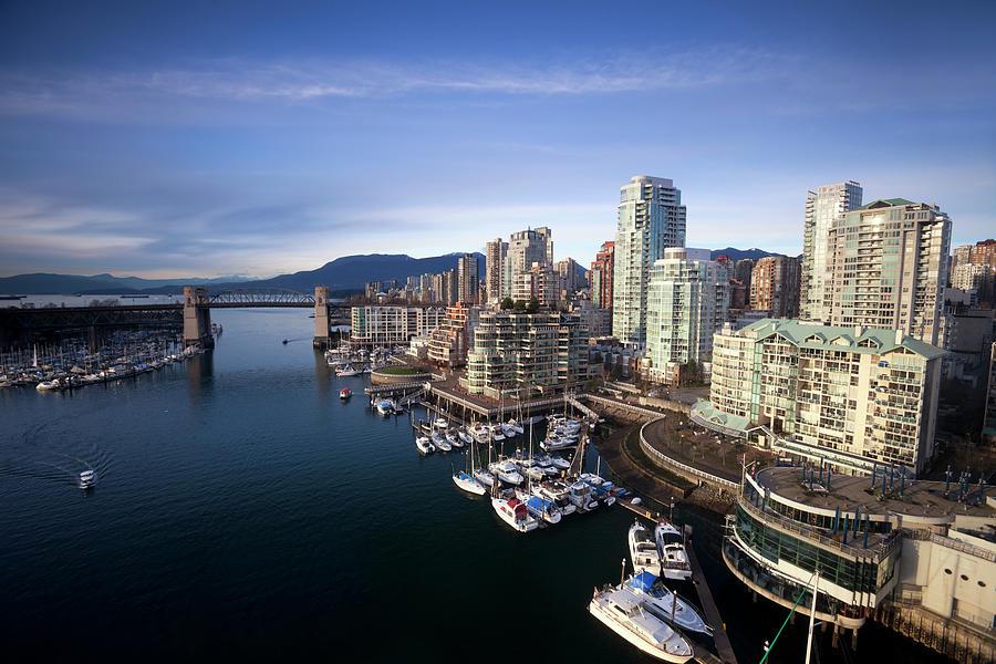 Vancouver Waterfront Photograph by Dan prat