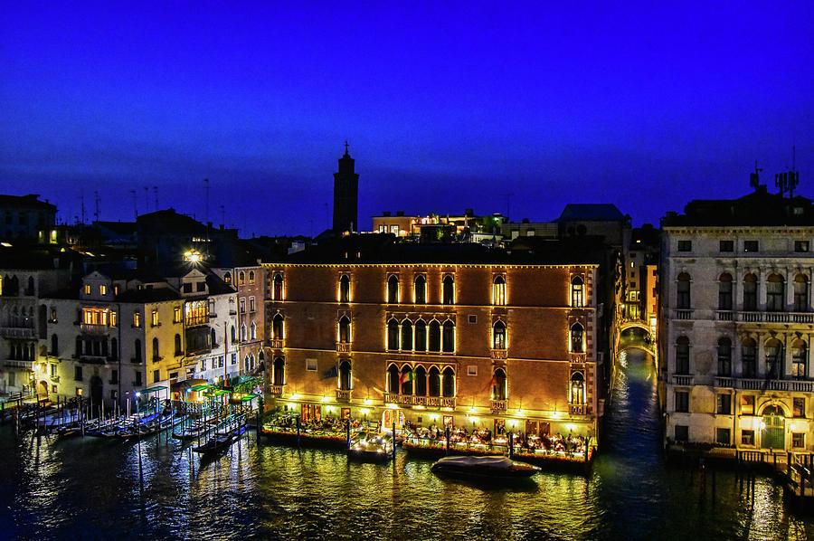 Venice at Night by Bill Howard