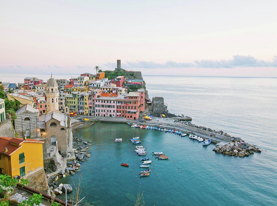 Vernazza Italy Photograph by M Swiet Productions
