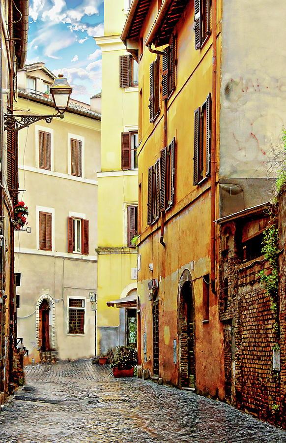 Via della Tribuna di Campitelli by Anthony Dezenzio