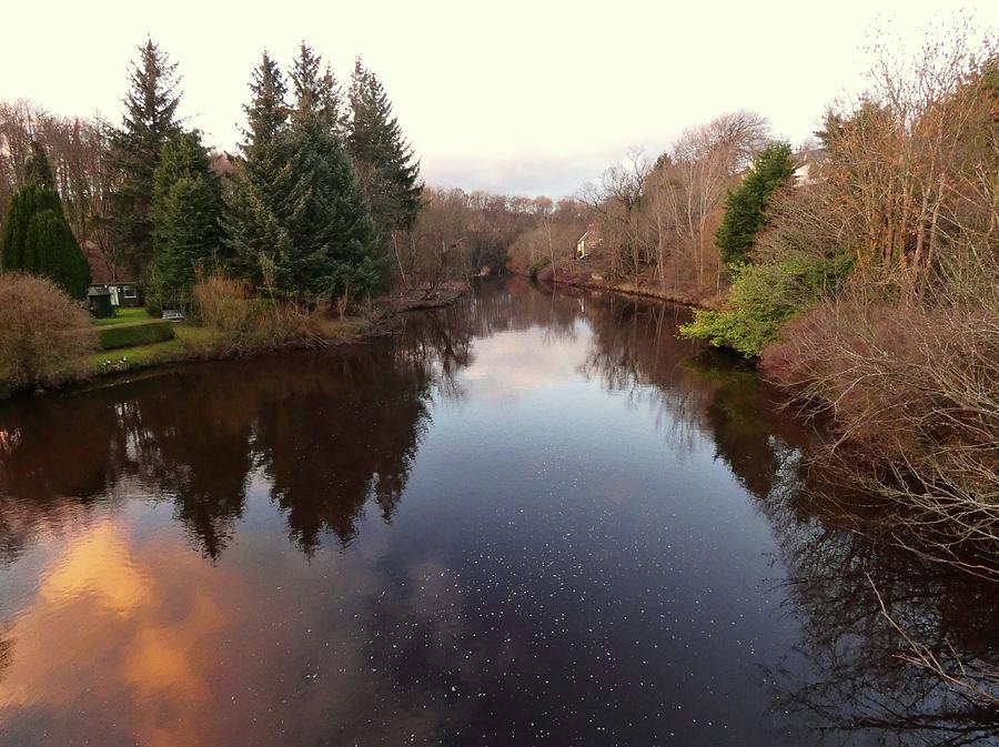 Handheld Photograph - View From The Bridge by Nik Watt