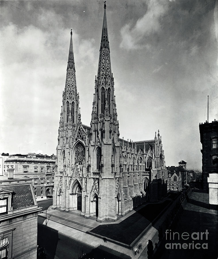View Of St. Patricks Cathedral Photograph by Bettmann