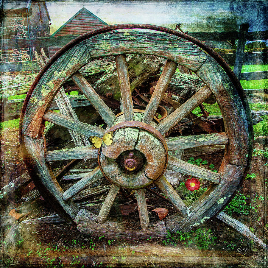 Wagon Wheel by Keith Hawley