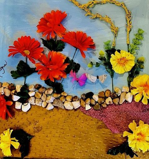 Walk in the Garden by Kenlynn Schroeder