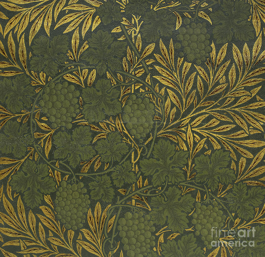 Wallpaper Sample, 1873 by Morris and Co by William Morris