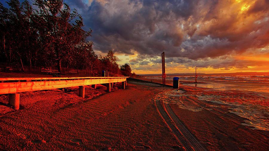 Wasaga Sunset by Bryan Smith