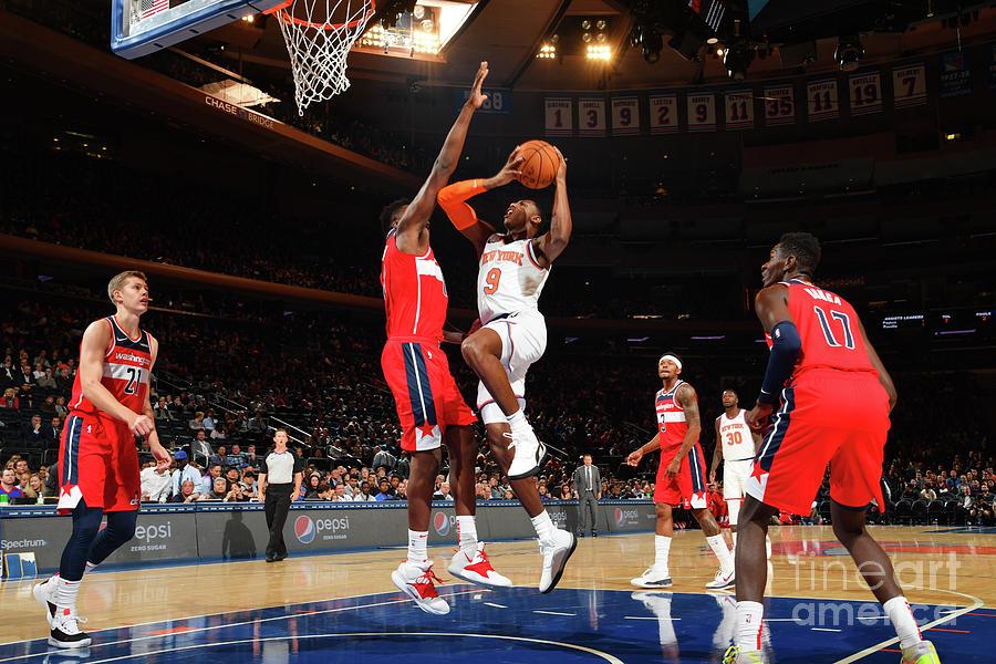Washington Wizards V New York Knicks Photograph by Jesse D. Garrabrant