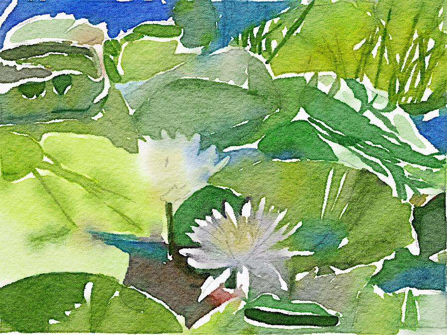 Water Lillies by Joe Roache