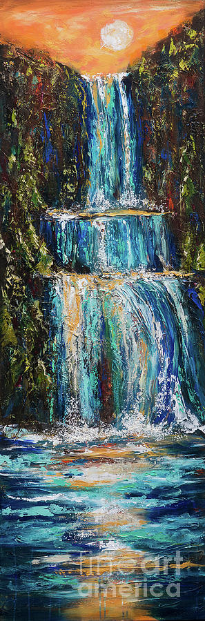 Waterfall Canyon by Linda Olsen