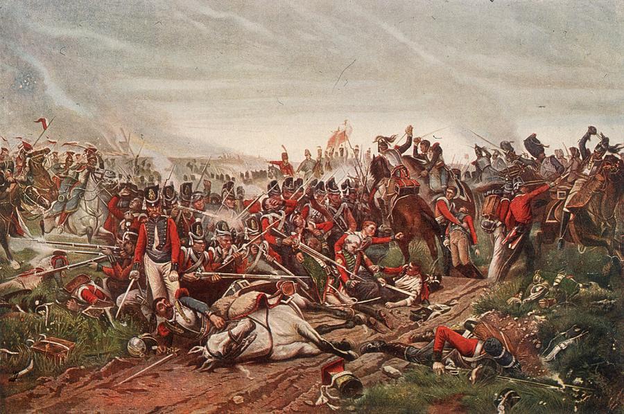 Waterloo Digital Art by Hulton Archive