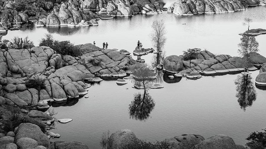 Afternoon at Watson Lake by Juliana Swenson