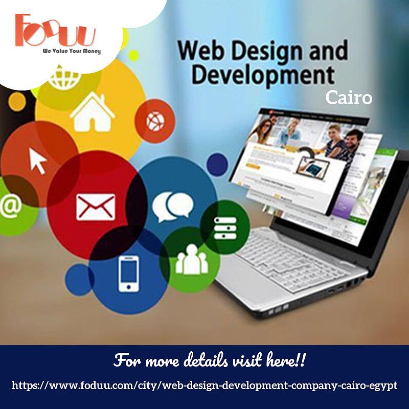 Web Design Companies In Cairo Mixed Media By Foduu Web Design