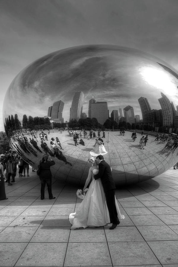 WEDDING AT THE BEAN by Jeffrey PERKINS