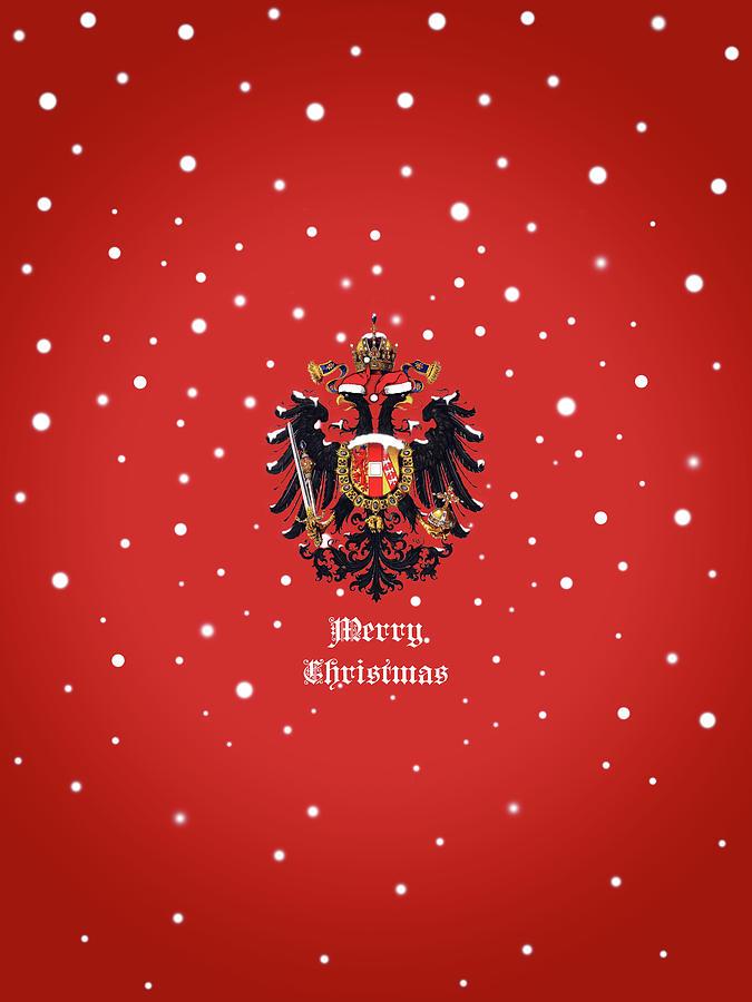 Christmas Photograph - Christmas Habsburg Doppeladler by Helga Novelli