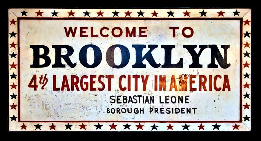 WELCOME TO BROOKLYN by Rob Hans