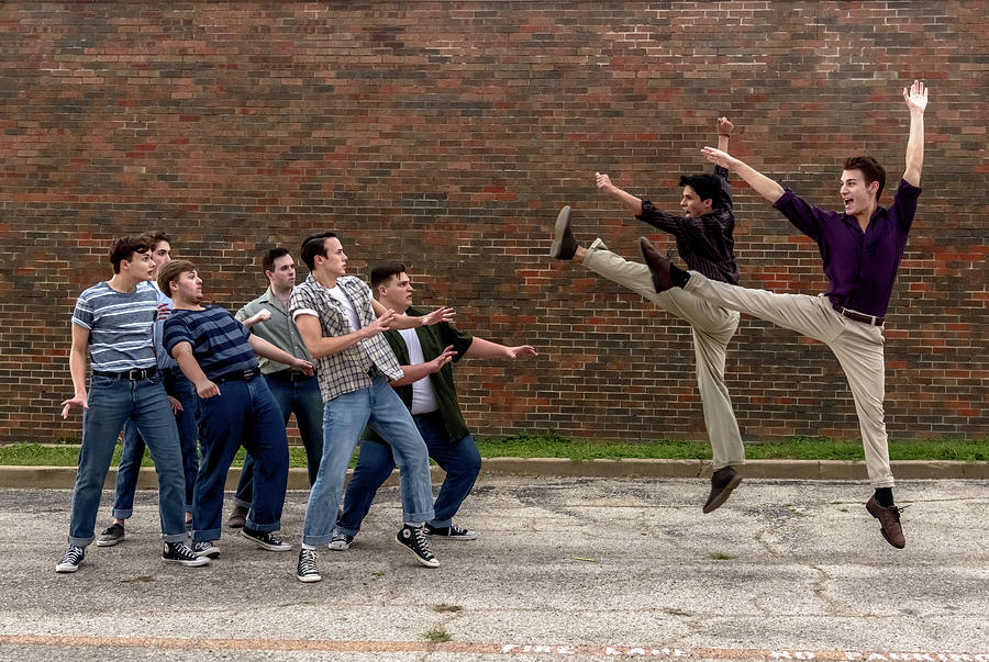 Broadway Photograph - West Side Story 2 by Alan D Smith