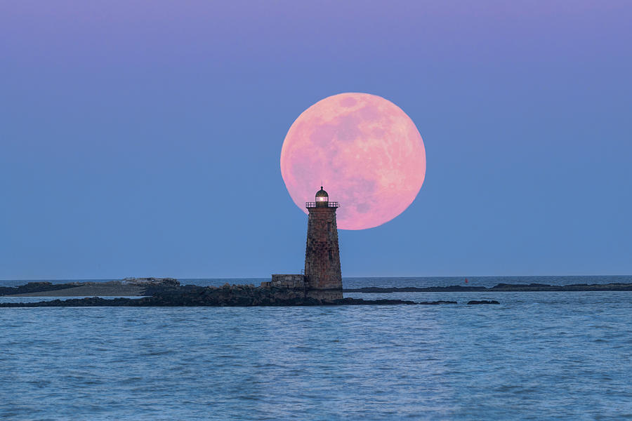 Whaleback and the Worm Moon by Thomas Gaitley