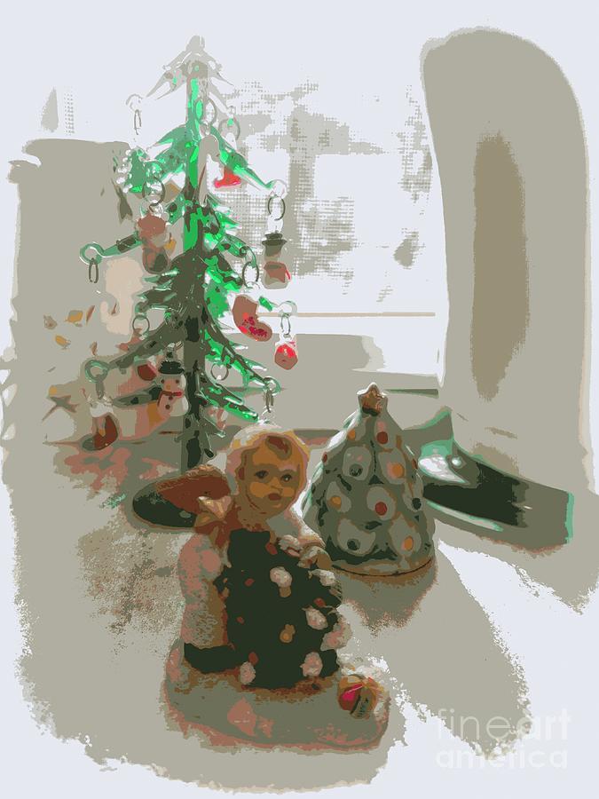 Tiny White Christmas by Jodie Marie Anne Richardson Traugott          aka jm-ART