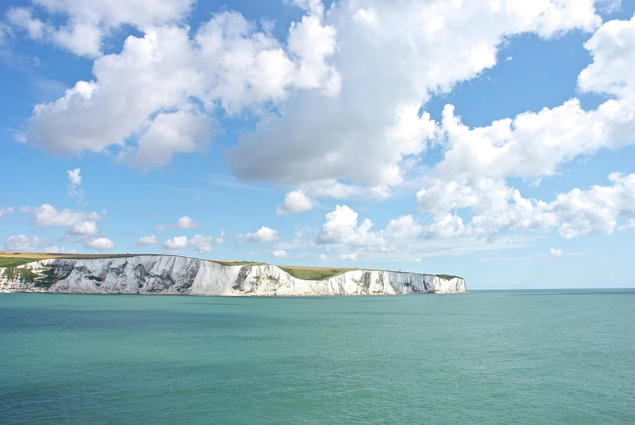 White Cliffs Of Dover Photograph by Lisavalder