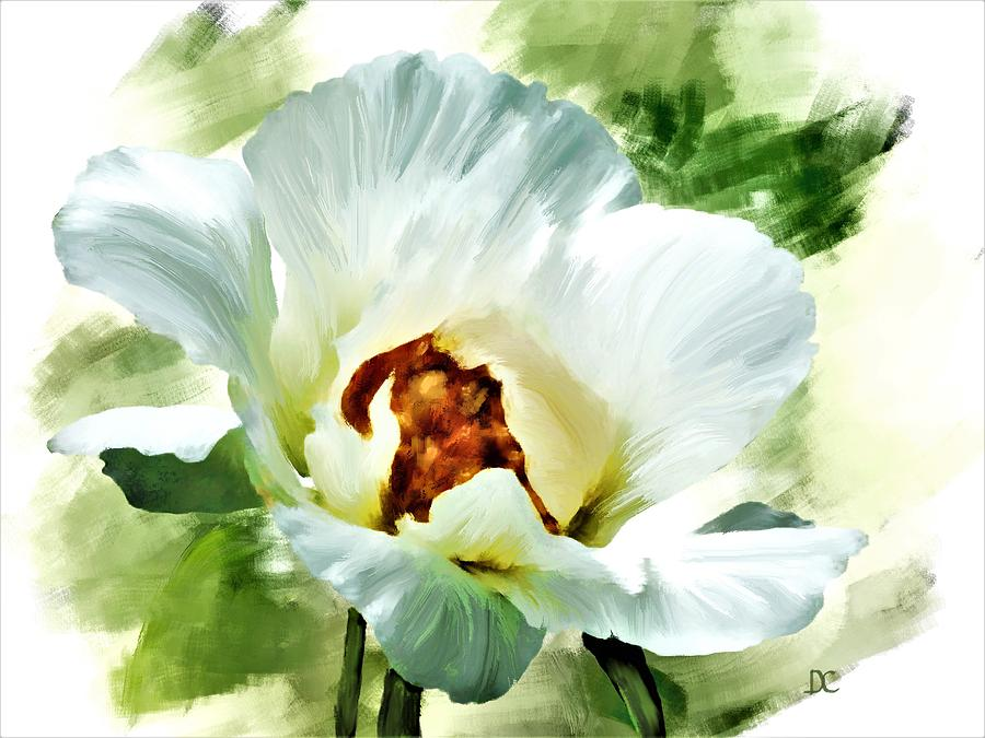 White Peony by Diane Chandler