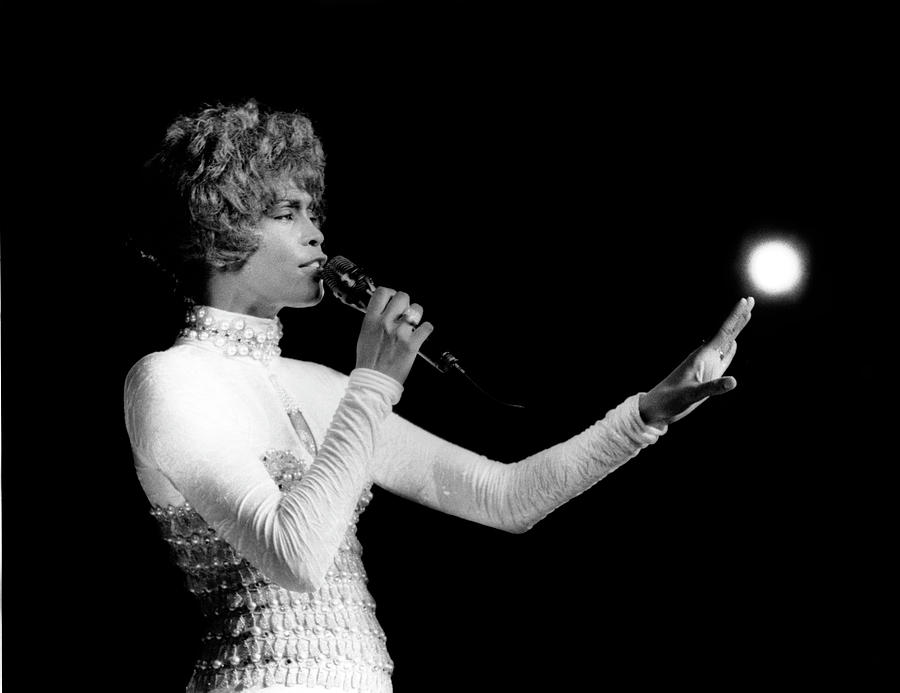 Whitney Houston Live In Concert Photograph by Raymond Boyd